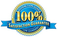 100 Percent Satisfaction Guarantee of our Services for 1 Year.