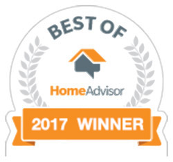 Best of 2017 HomeAdvisor Services Award Winner