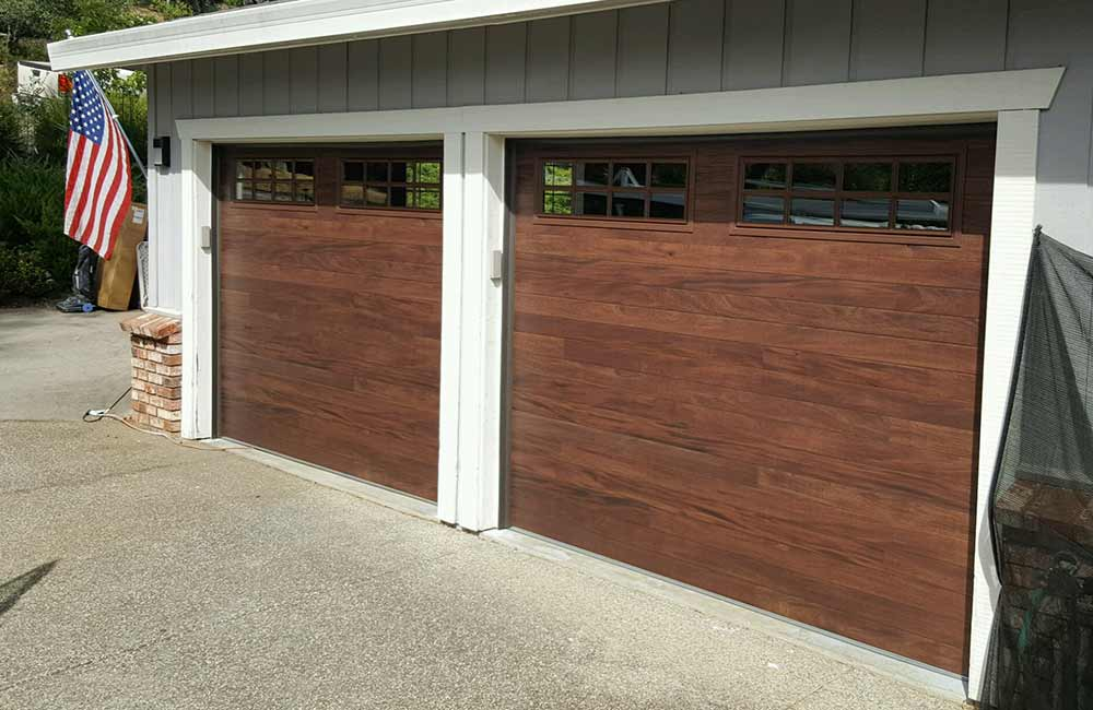 Residential Garage Doors Before & After Replacement Installation Services in Truckee, CA.