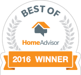 Best of 2016 HomeAdvisor Services Award Winner