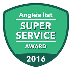 Rolling Garage Doors & Gates Earns 2016 Angies List Super Service Award
